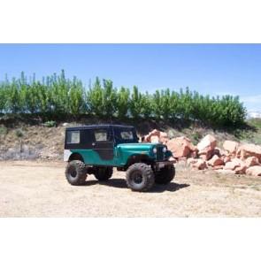 Jeep CJ Spring Over Axle (SOA) lift kits