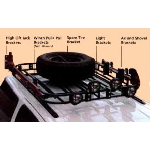 Jeep Commander Roof Rack