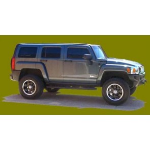 Hummer H3, Old Man Emu lift kit also H3T