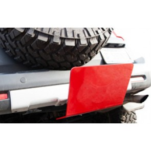 Receiver Hitch Skid Plate