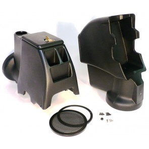 Intra-Pod Jeep Speaker and Subwoofer Housing