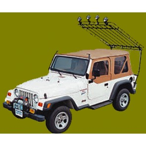Jeep Roof Rack-Hard Tops  For CJ, YJ, TJ and JK