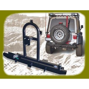 Jeep Rear Bumper with Tire Carrier