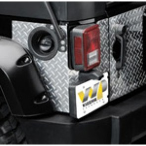Jeep Diamond Plate Corner Guards