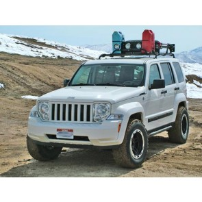 Jeep Liberty Roof Rack and Steel Roof Rails