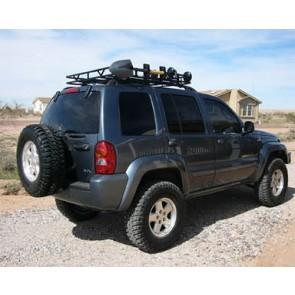 Safari Style Jeep Liberty Roof Rack