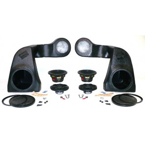 Quad-Pod Jeep Speakers