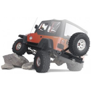 Warn Rock Crawler Rear CJ, YJ, TJ Bumper