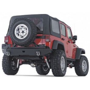 Warn Rock Crawler Rear JK Bumper