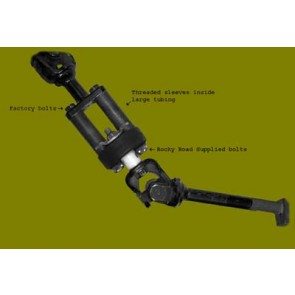 Steering extension for your Suzuki Vitara or Geo Tracker, 1999 and up