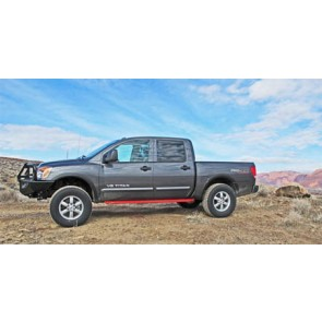 Nissan Titan Rock Sliders & Rockrails