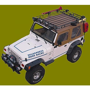 Jeep Roof Rack-Soft Tops  For CJ, YJ, TJ and JK