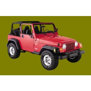 Jeep Fender Flares by Bushwacker (Cutout and Flat Fender)