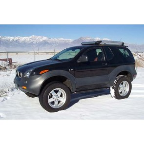"3"" OME Isuzu Vehicross Lift Kit and Accessories"