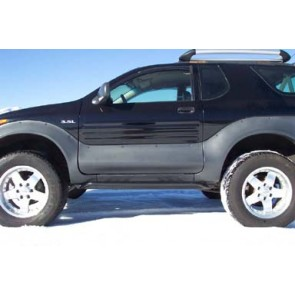 Isuzu Vehicross Rockrails & Rock Sliders