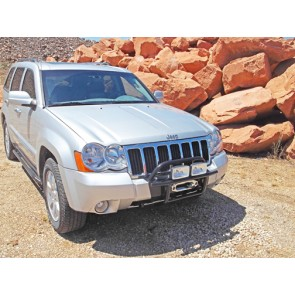 WK Winch Mount & Bumper Grand Cherokee, 2005-2010