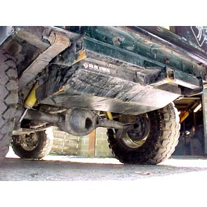 Cherokee XJ Gas Tank Skid Plate