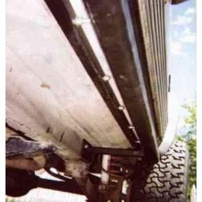 Jeep Cherokee XJ Rock Sliders / Rock Rails and Comanche Rock Sliders